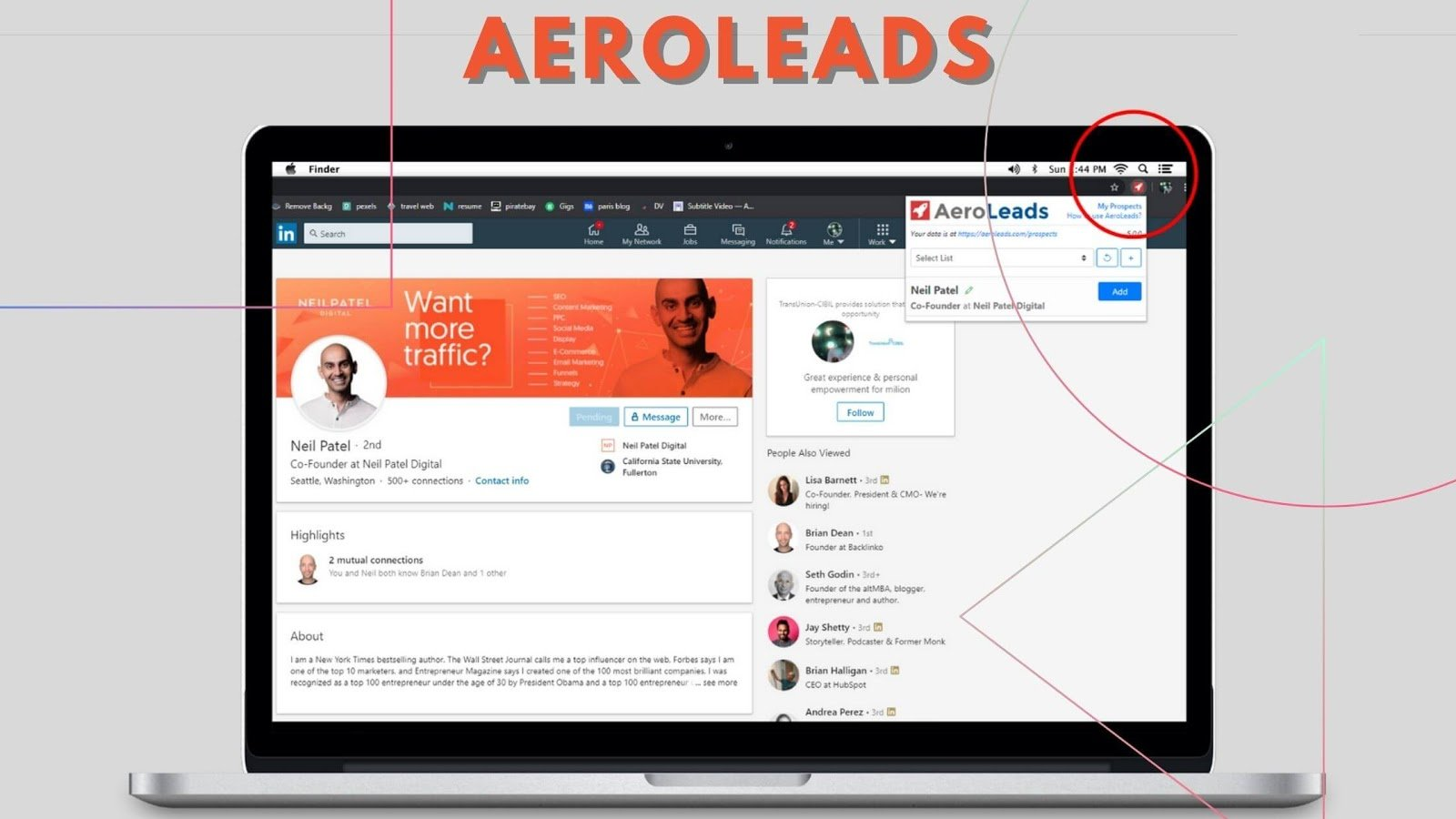 AeroLeads Email Finder Tool