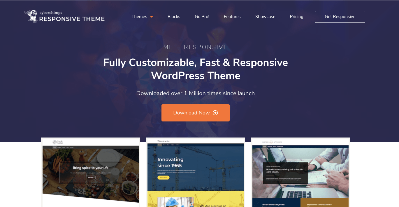 CyberChimps Responsive WordPress themes