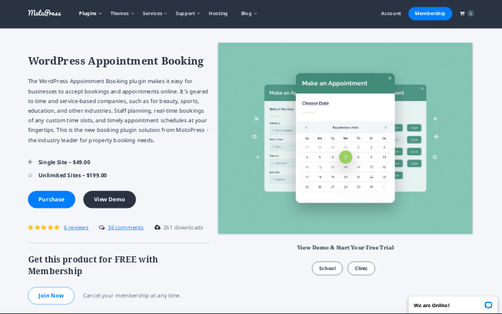 MotoPress Appointment Booking WordPress Plugin