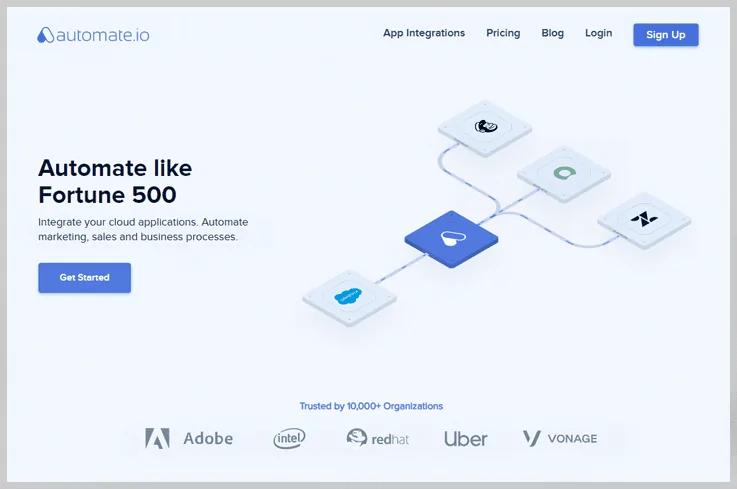 Automate.io - Zapier Competitor