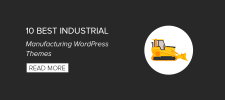 10 Best Industrial Manufacturing WordPress Themes