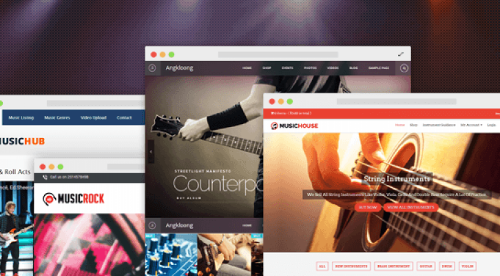 20+ Best Music WordPress Themes For Musicians And Rock Band [CurrentYear]