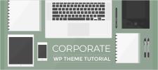 Business Corporate WordPress Website Theme Tutorial