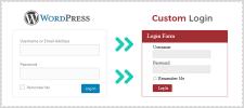 How To Redirect Default WordPress Login Into A Custom Login Page