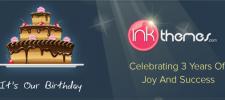Happy Birthday InkThemes- Celebrating