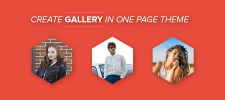 How to Create Gallery Page In WordPress One Page Theme