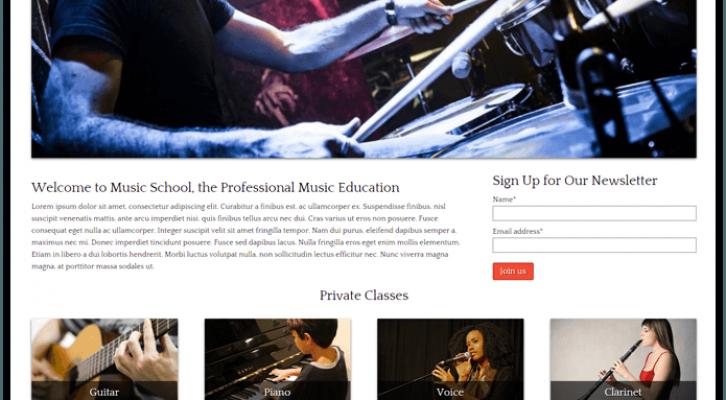 Music School-wordpress-music-InkThemes