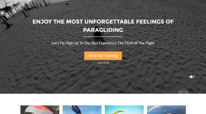 Paraglider WP Theme