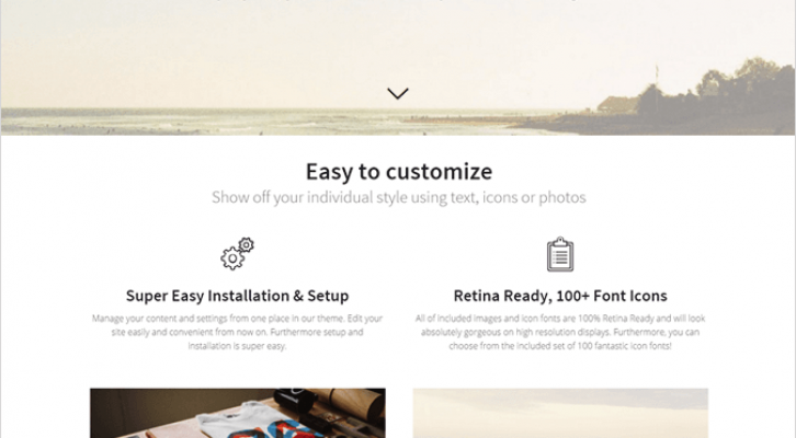 Prollective Best Responsive One Page WordPress Theme