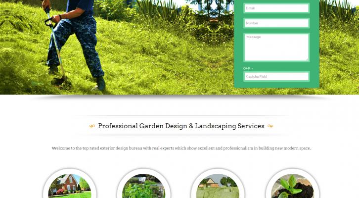 wp - garden & exterior designer theme