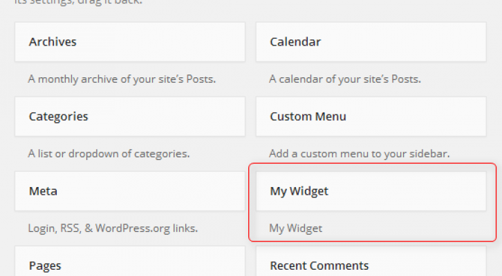 widget wp create