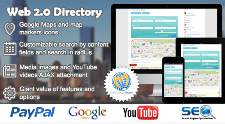 WordPress Web 2.0 Directory Plugin