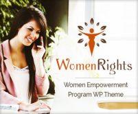 WomenRights - Women Empowerment Program WordPress Theme & Template