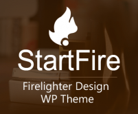 Start Fire - Firelighter Design WordPress Theme & Template