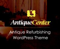 Antique Center - Antique Refurbishing & Reparing WordPress Theme
