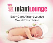 InfantLounge - Baby Care Airport Lounge WordPress Theme