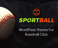 SportBall - Baseball WordPress Theme