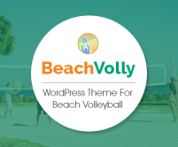 BeachVolly - Beach Volleyball WordPress Theme