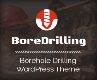 BoreDrilling - Borehole Drilling WordPress Theme