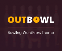 OutBowl - Bowling WordPress Theme