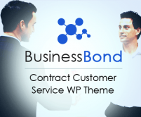 BusinessBond - Contract Customer Service WordPress Theme