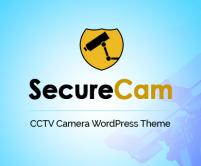 SecureCam - CCTV Camera WordPress Theme