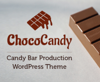 ChocoCandy - Candy Bar Production WordPress Theme