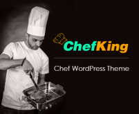ChefKing - Chef WordPress theme