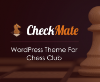 CheckMate - Chess WordPress Theme