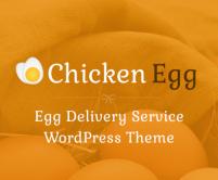 ChickenEgg - Egg Delivery Service WordPress Theme