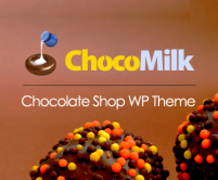 ChocoMilk - Chocolate Shop WordPress Theme