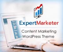 Expert Marketer - Content Marketing WordPress Theme