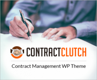 ContractClutch - Contract Management WordPress Theme & Template