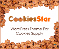 CookiesStar - Cookies Supply WordPress Theme