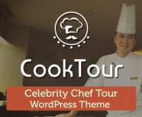 CookTour - Celebrity Chef Tour WordPress Theme And Template