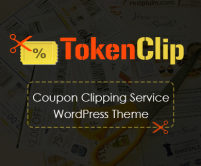 TokenClip - Coupon Clipping Service WordPress Theme