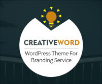 CreativeWord - Branding & Marketing Service WordPress Theme