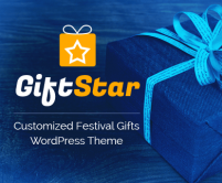 GiftStar - Customized Festival Gifts WordPress Theme