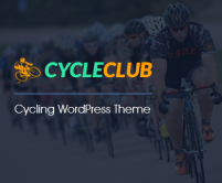 CycleClub - Cycling WordPress theme