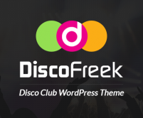 Disco Freek - Disco Club WordPress Theme & Template
