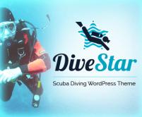 DiveStar - Scuba Diving Club & School WordPress Theme