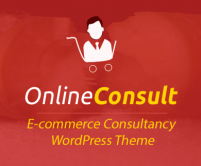 Online Consult - E-commerce Consultancy WordPress Theme & Template
