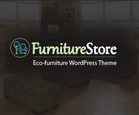Furniture Store - Eco-Furniture WordPress Theme & Template