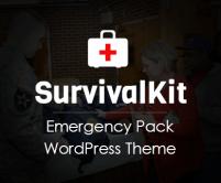 Survival Kit - Emergency Pack WordPress Theme & Template