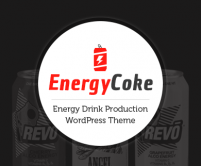 EnergyCoke - Energy Drink Production WordPress Theme