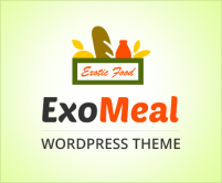Exo Meal - Exotic Foods Restaurant WordPress Theme & Template