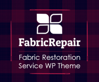 FabricRepair - Fabric Restoration Service WordPress Theme