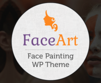 FaceArt - Face Painting WordPress Theme