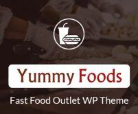 YummyFood - Fast Food Outlet WordPress Theme