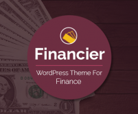 Financier - Finance WordPress Theme